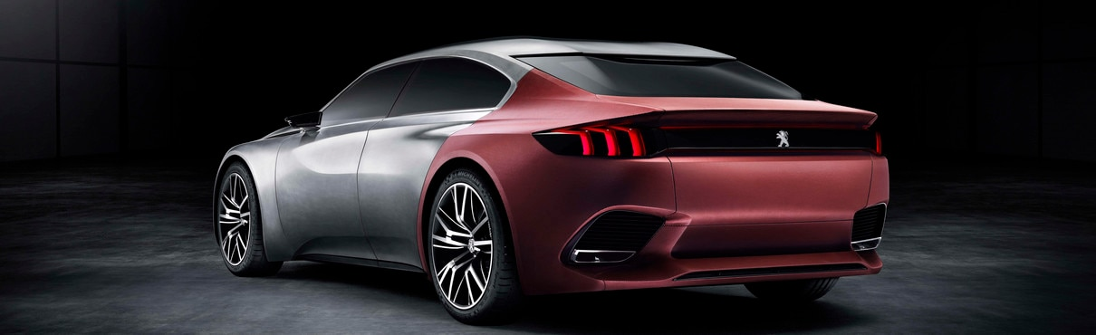 Peugeot Exalt - Rear of the saloon Concept car