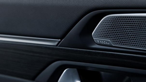 New PEUGEOT 508 GT saloon, FOCAL® premium Hi-Fi sound system