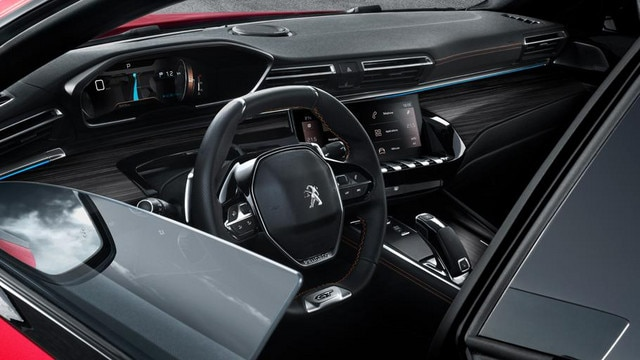 New PEUGEOT 508 GT, frameless door